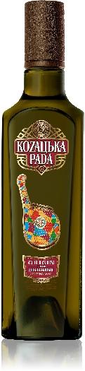 Kozatska Rada Original Vodka 40% 0,5L