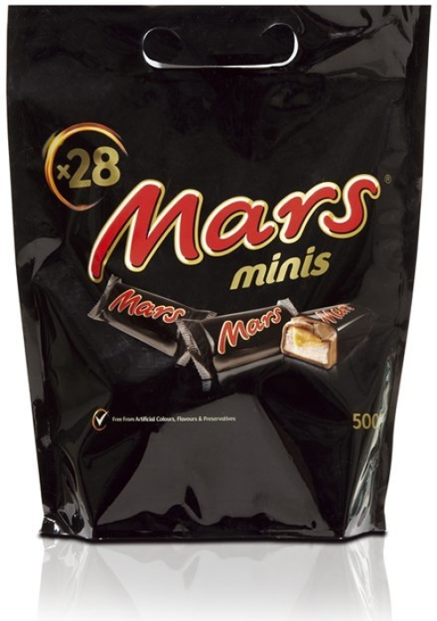 Mars Minis Pouch 500g