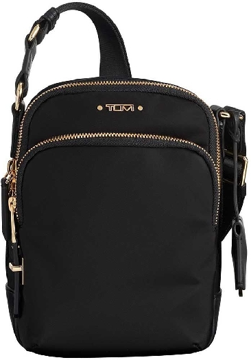 Tumi Voyageur Ruma Crossbody Women`s Bag, Black 0196316D