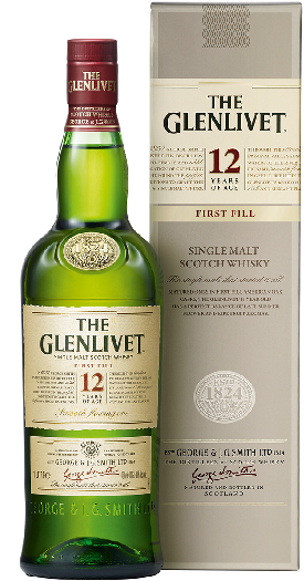 The Glenlivet 12 Years Old 1L