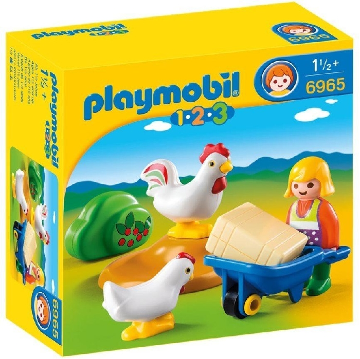 Playmobil Farmer's Wife with Hens