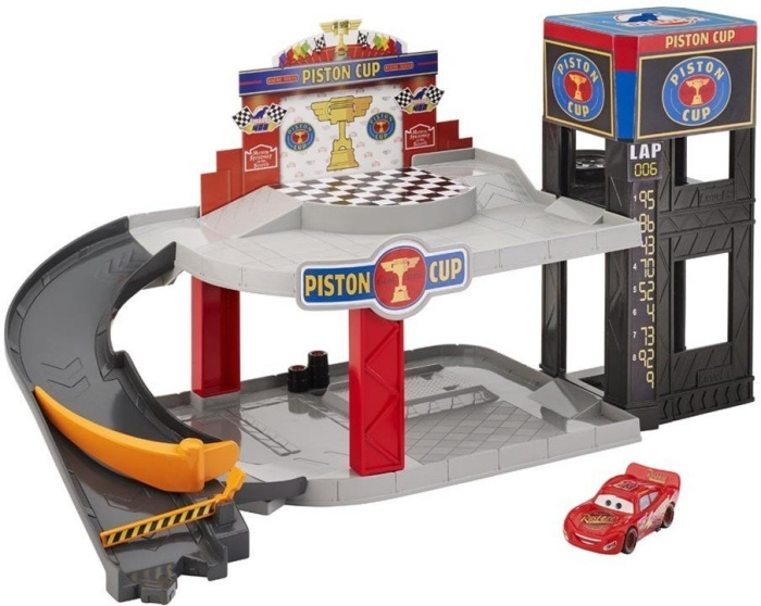 Cars Piston Cup Racing Garage