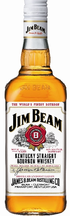 Jim Beam White Kentucky Straight Bourbon 1L