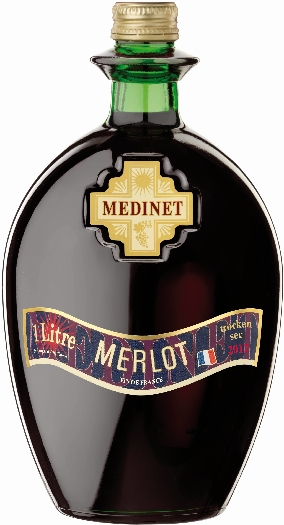 Medinet Merlot Grenache 1L