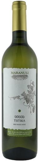 Maranuli Tsitska Dry White 12% 0.75L