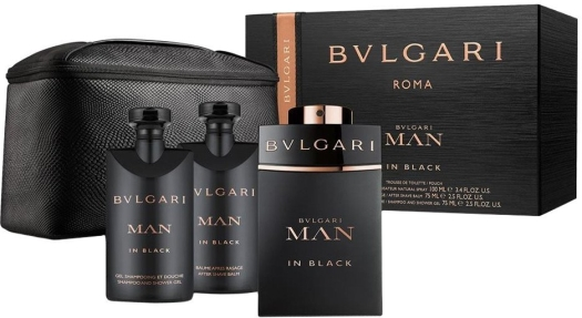 Bvlgari Man in Black Set 100ml+75ml+75ml
