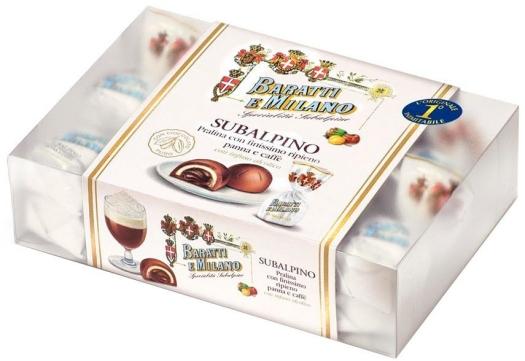 Baratti&Milano Subalpino Hazelnut Cream Coffee 220g