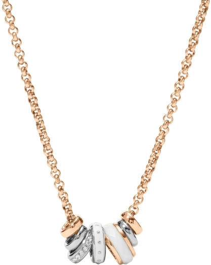Fossil Classics JF01122998 Necklace