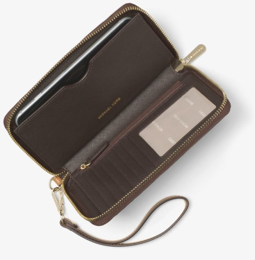 9113f457c8436 Michael Kors Jet Set Travel Logo Smartphone Wristlet in duty-free at ...
