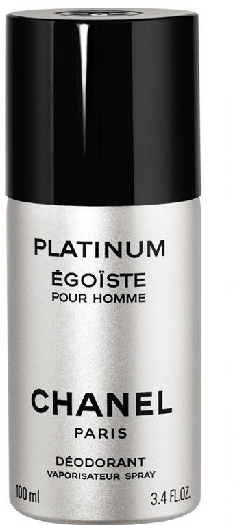 Chanel Egoiste Platinum Deodorant Spray 100ml