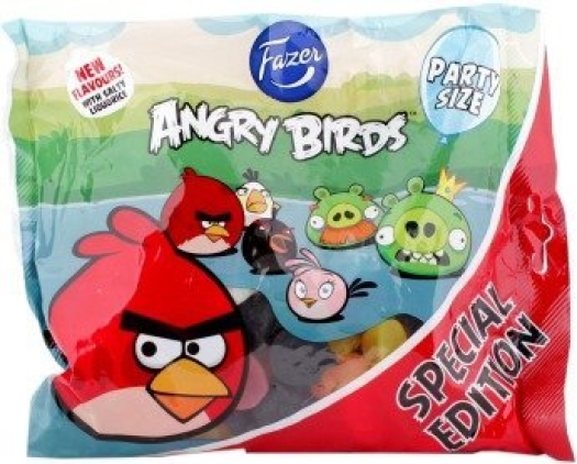 Fazer Jellies Angry Birds Party Mix 400g