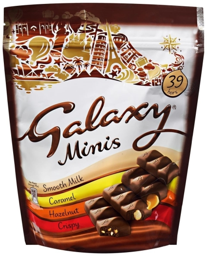 Galaxy Mixed Minis Pouch 491g