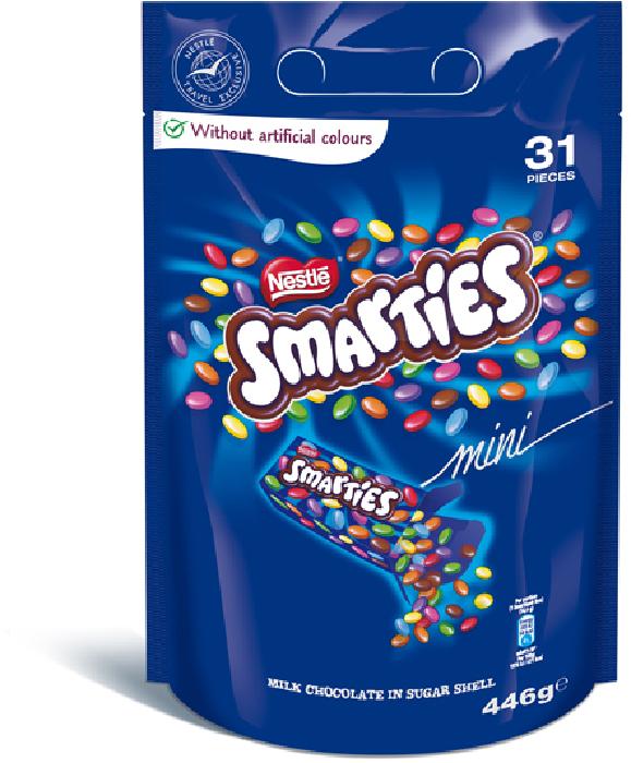 Smarties Mini Sharing Bag 446g