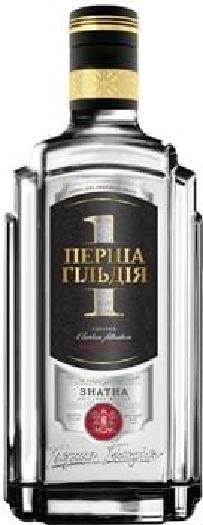 Premium Ukrainian vodka First Guild Znatna 0.7L