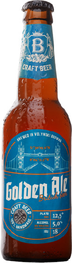VB Golden Ale British 0.35L