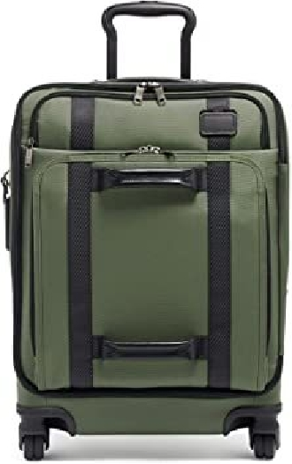 Tumi MERGE Continental Front Lid 4 Wheel Carry On Suitcase, Green 022028660FT21338