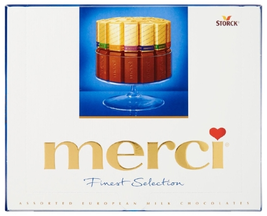 Merci Finest Selection Assorted Milk Chocolates 250g