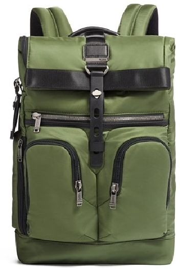 Tumi ALPHA BRAVO Backpack with laptop compartment, Green 0232659FT1338