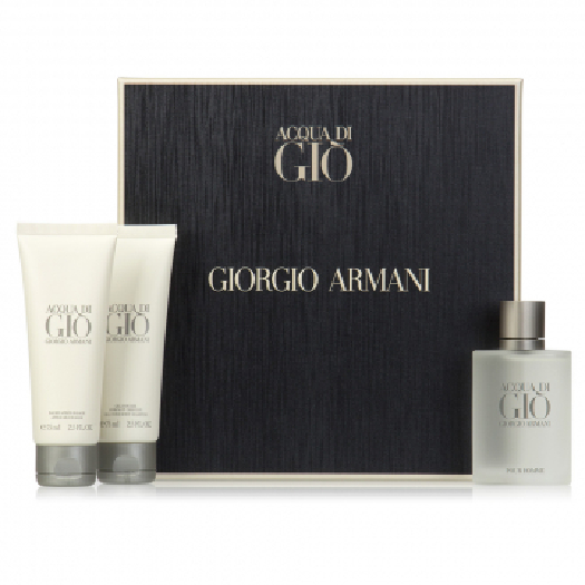 Giorgio Armani Acqua di Gio pour Homme Set Set cont.: Eau de Toilette 100 ml + Shower Gel 75 ml + After Shave 75 ml)