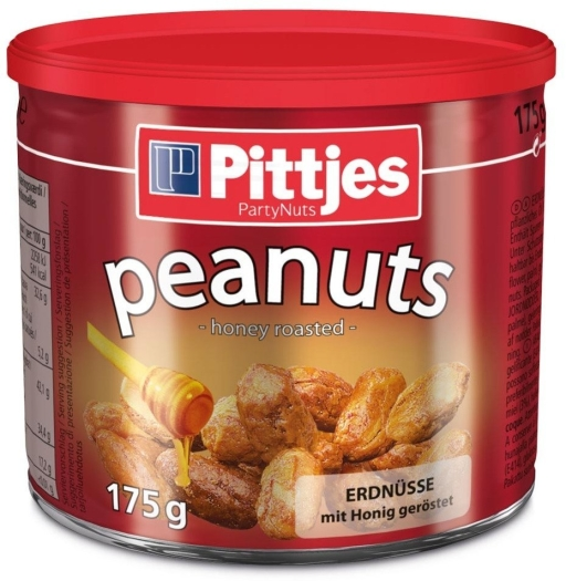 Pittjes Honey Peanuts Tin
