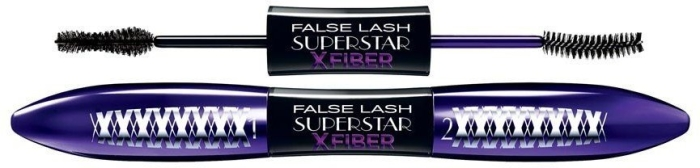 L'Oreal Paris Mascara False Lash Wings Superstar X Fiber Mascara N1 extra Black 13ml