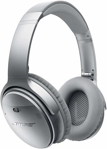 Bose QuietComfort 35 Wireless Headphones II Silver 237g