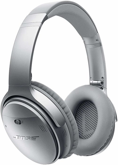 Bose QuietComfort 35 Wireless Headphones II Silver 237g
