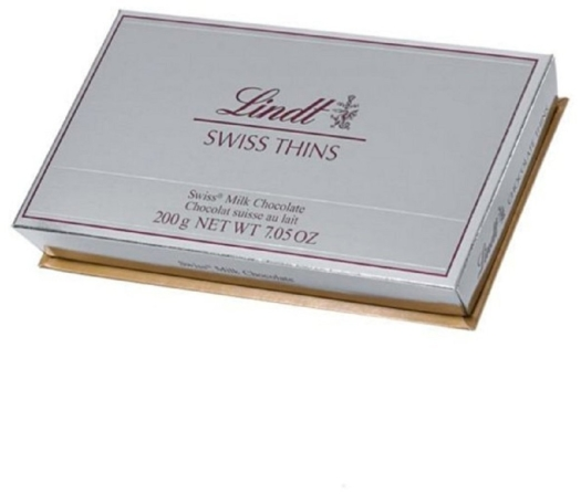 Lindt Swiss Milk Chocolate Thins 200g