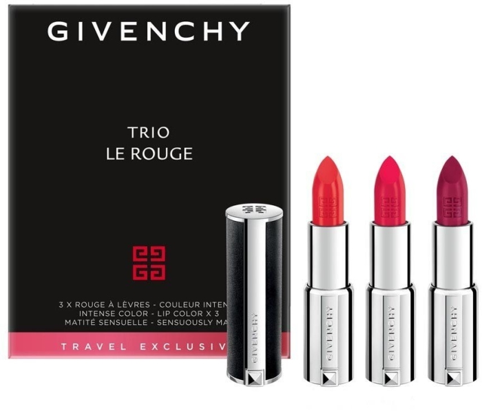Givenchy Le Rouge Lipstick Set 3x3.4g