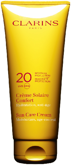 Clarins Sun Care Soothing Cream Moderate Protection UVB/UVA 20 200ml