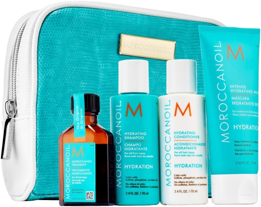 Moroccanoil Hair Hydrating Travel Kit