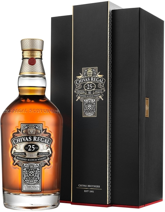 Chivas Regal Whiskey 25 YO 0.7L