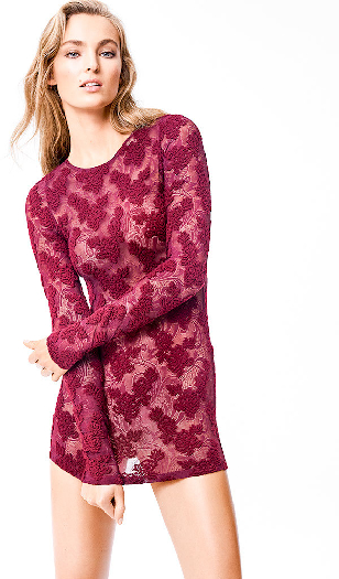 Wolford Sofia Pullover merlot S