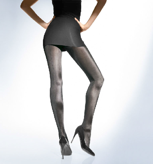 Wolford Satin de Luxe Tights XS