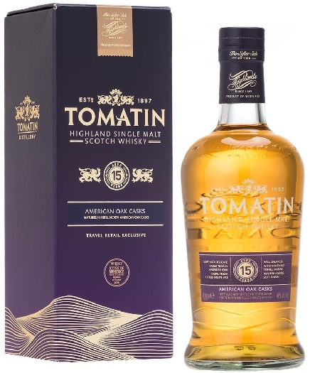Tomatin 15yo 46% Whiskey 0.7L