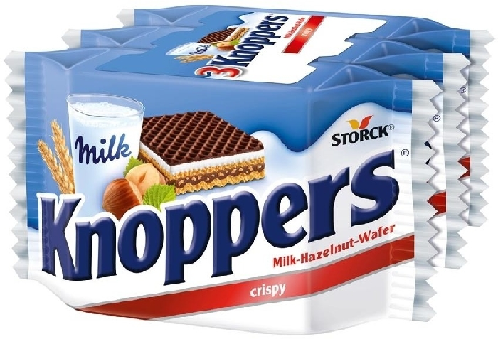 Knoppers 3-pack 75g
