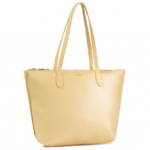 Furla Shopper Luce Giallo h