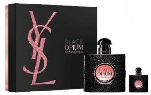 Yves Saint Laurent Black Opium Set cont.: Eau de Parfum 50 ml (GH 1094916) + Eau de Parfum Miniature 7,5 ml
