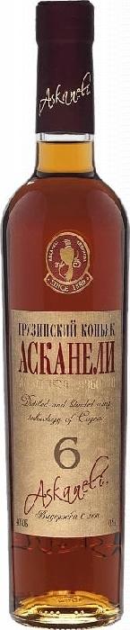 Askaneli Brandy 6 YO 40% 0,5L