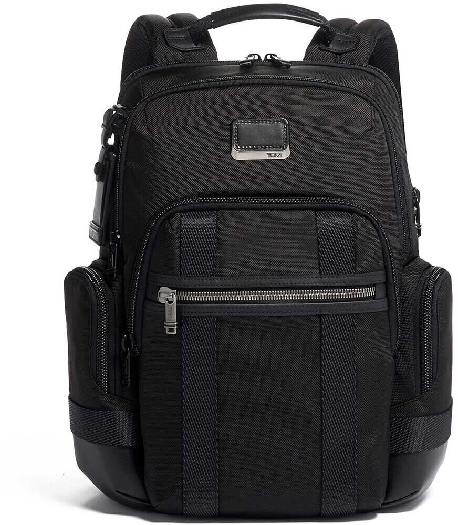 Tumi Alpha Bravo Nathan Backpack, Black 0232693D