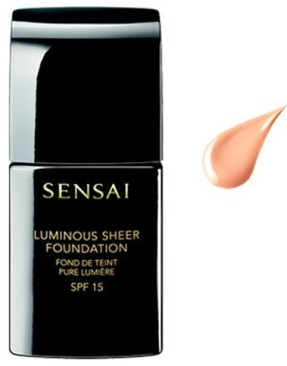 Sensai Luminous Sheer Fluid Foundation NLS102 Ivory Beige 30ml