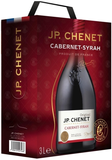 JP. Chenet Cabernet-Syrah Bag-In-Box 3L
