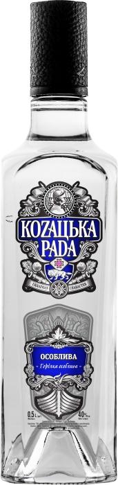 Kozatska Rada Vodka Special 40% 0.5L