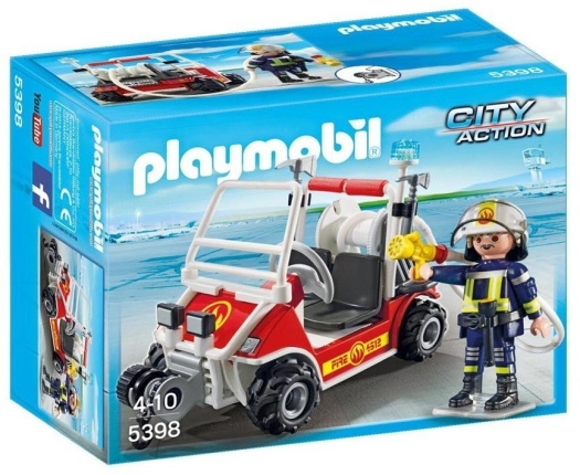 Playmobil City Action 5398 Fire Quad
