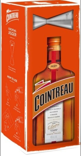 Cointreau Jigger Pack 40% 1L