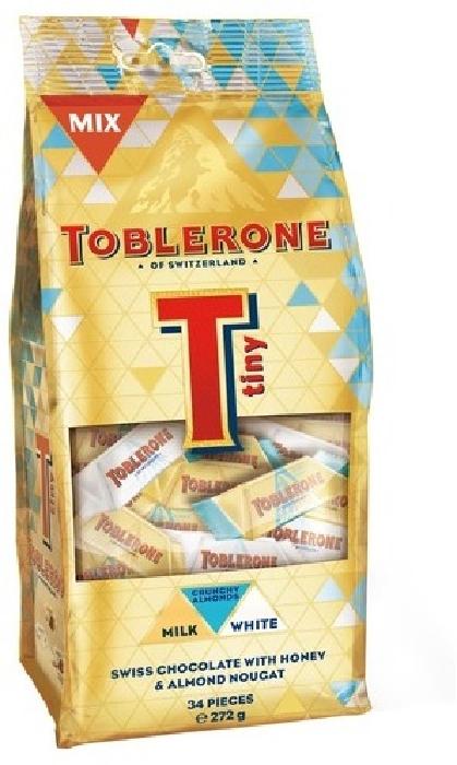 Toblerone Tiny Crunchy Almond Mix Bag 272g