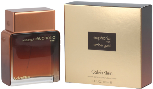 CALVIN KLEIN Amber Gold Euphoria For Men 100ml