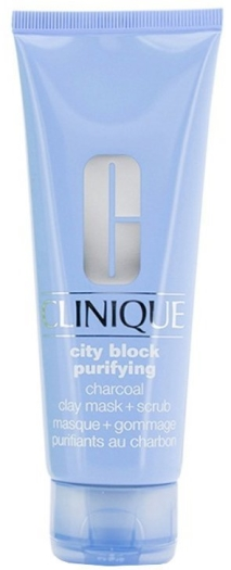 Clinique Charcoal Clay Mask Scrub 100ml