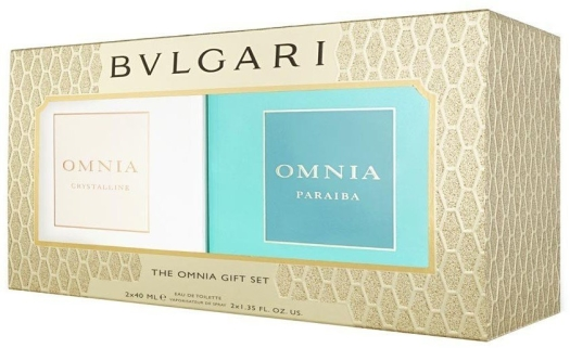 Bvlgari Twinpack Duo EdT 2x40ml