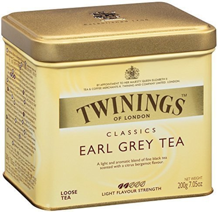 Twinings Earl Grey Tea in Tin 200g